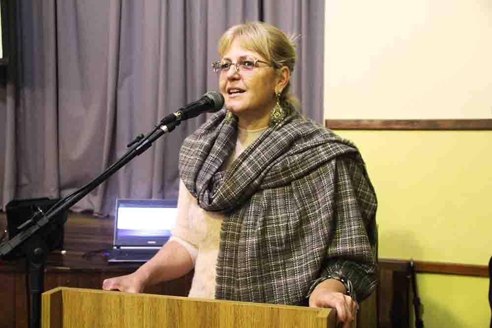 Diretora da Escola Ecumênica, Dinéia Urbanek