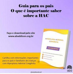 Guia para pais sobre a Hiperplasia Adrenal Congênita