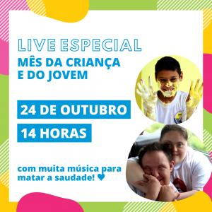 Fepe realiza Live em comemoração ao dia da criança