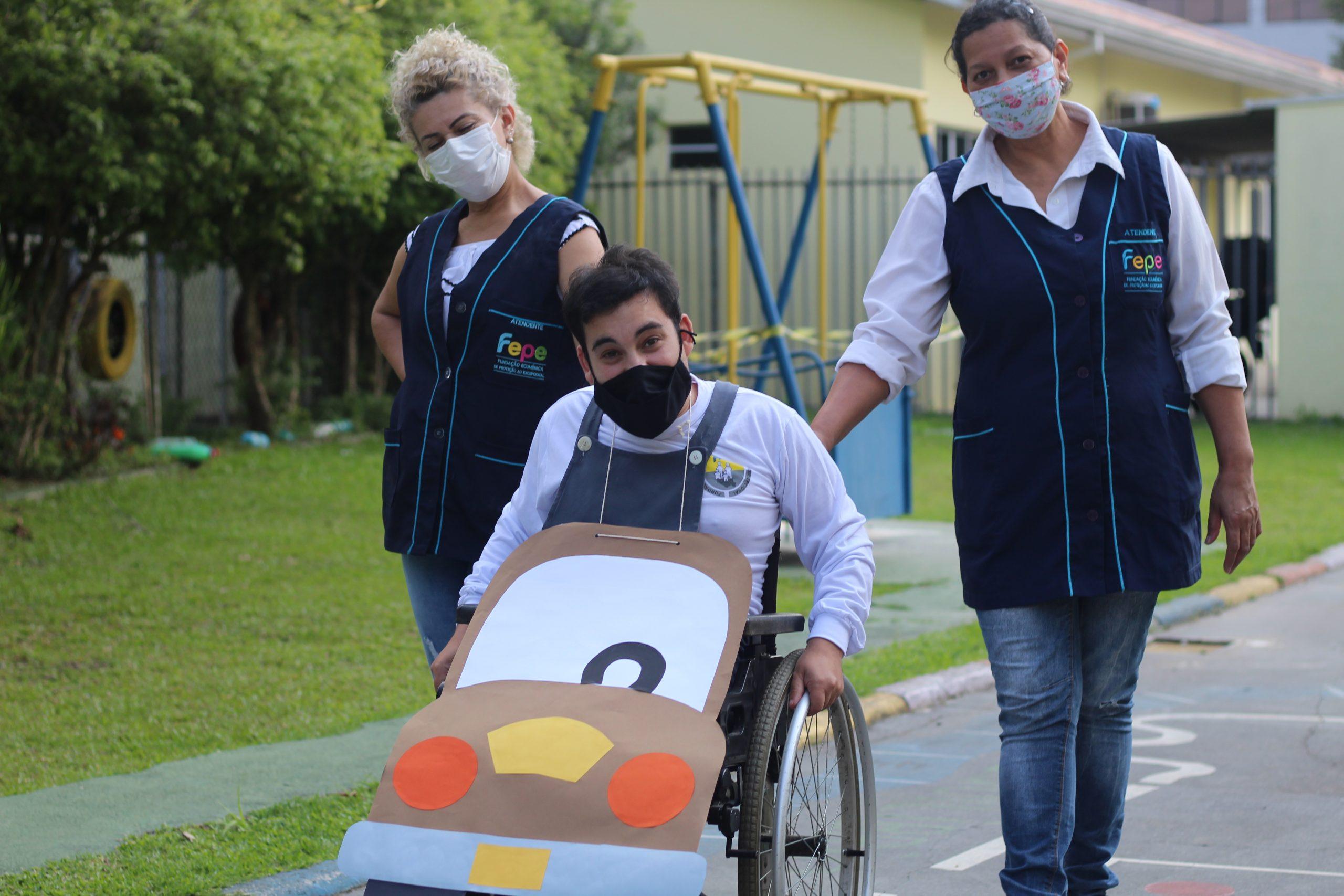 Alunos da Fepe participam da Semana Nacional de Trânsito
