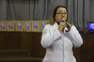 A coordenadora do Serviço Nacional de Triagem Neonatal, Mouseline Torquato Domingos